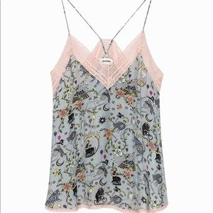 Zadig&Voltare Christy Circus Camisole Size M